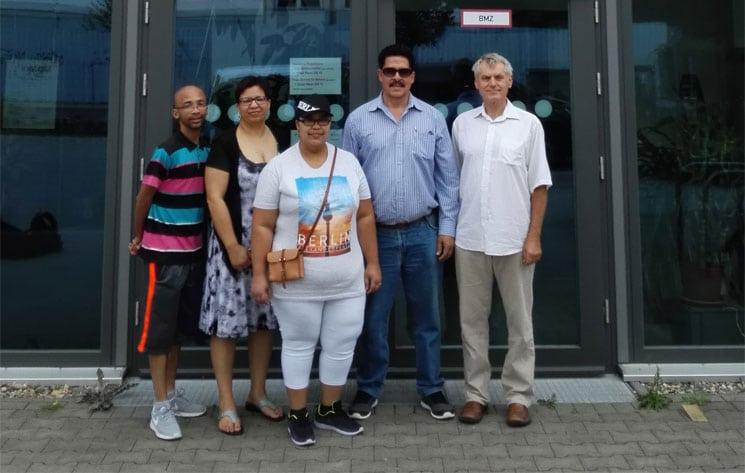 Besuch aus Südafrika bei Integra