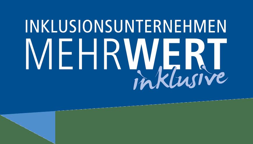 Logo Inklusionsunternehmen MEHRWERT inklusive Kampagne